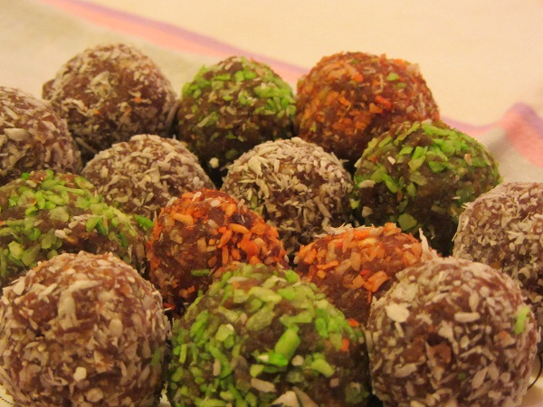 Домашни бонбони кекс и кокос