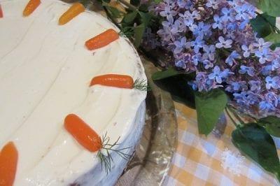 Морковена торта 2