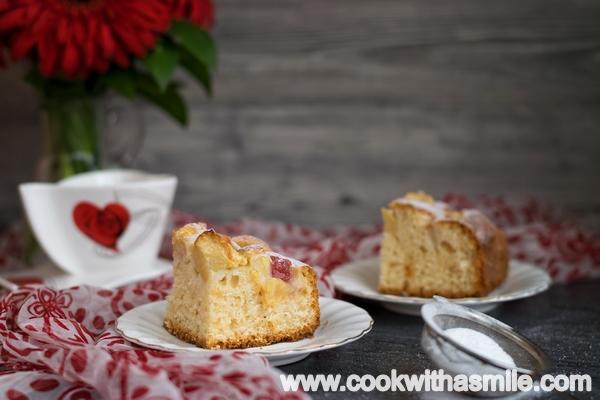 бърз и лесен ябълков кекс