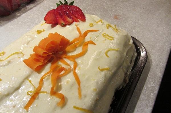 морковена торта канея
