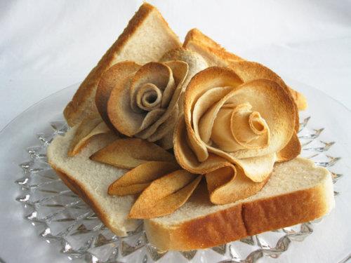 рози от солено тесто