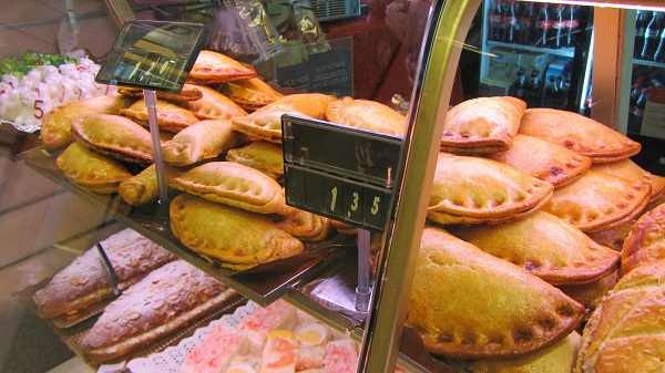 Empanadillas de chorizo (Емпанадиляс с чоризо) в Барселона