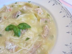 свинска супа с фиде