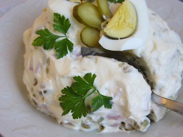 Хусарска салата рецепта