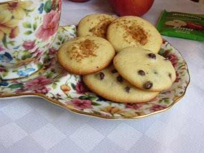 бързи лесни бисквитки с шоколад