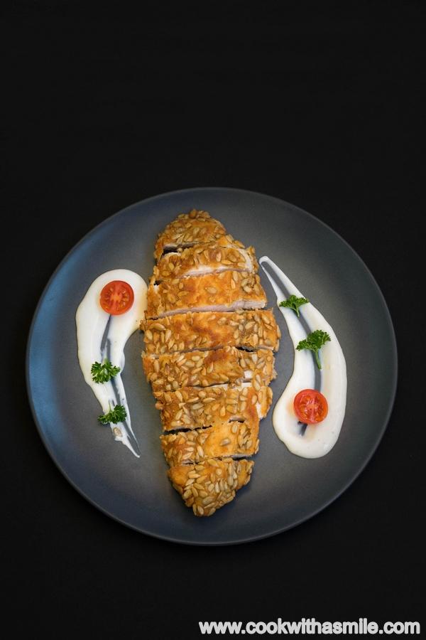 пилешко-филе-със-слънчоглед