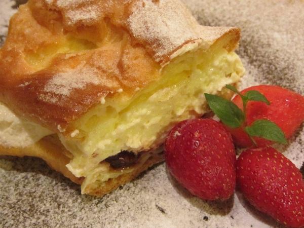 Торта Париж Брест от еклерово тесто