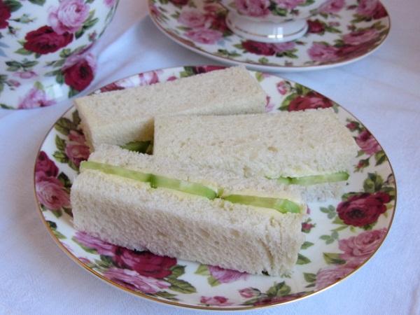традиционни сандвичи с краставица за следобеден чай