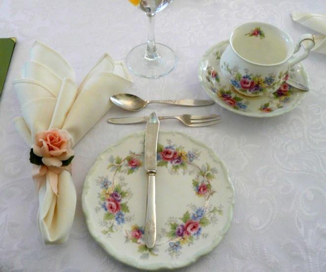 сервиране на следобеден чай
