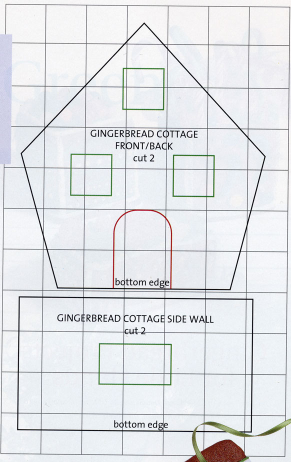 Gingerbread Cottage Pattern