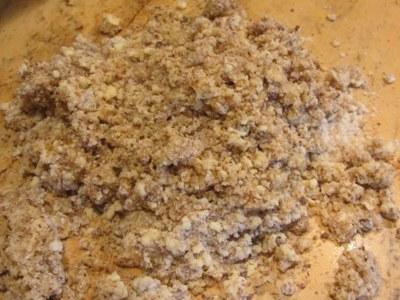маслено тесто с овесени ядки за тарт с панакота