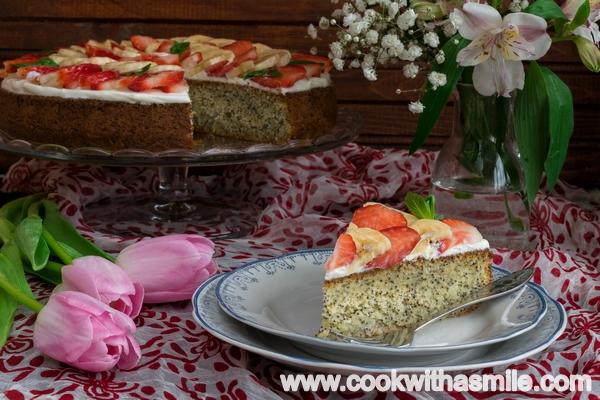 кекс с маково семе рецепта