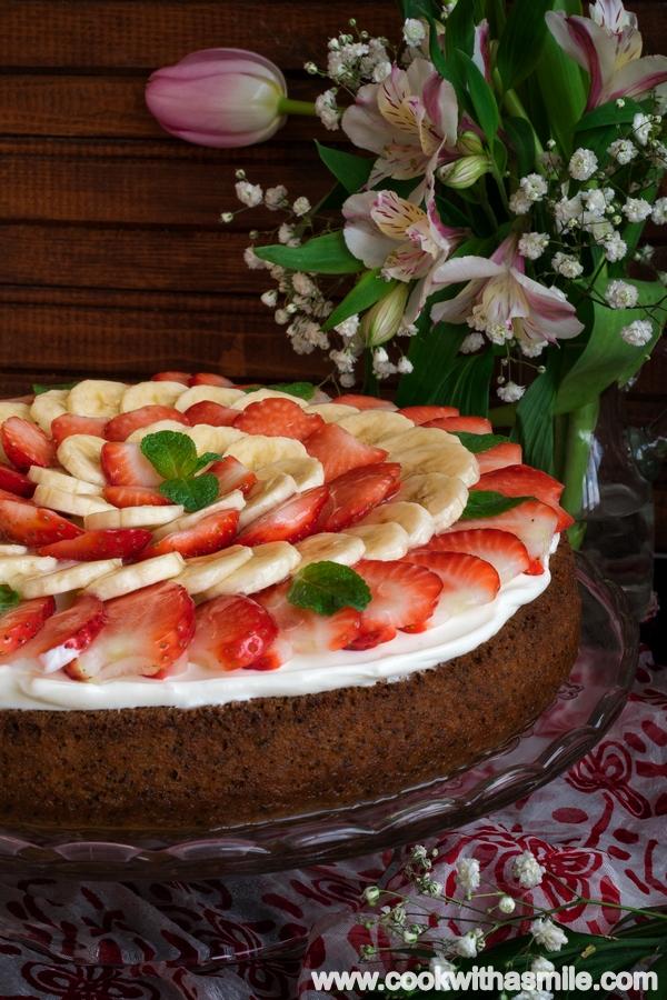 кекс с маково семе и плодове