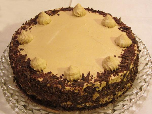 Торта с нес кафе и маскарпоне рецепта