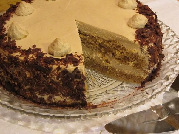 рецепта торта с нес кафе и маскарпоне и бейлис