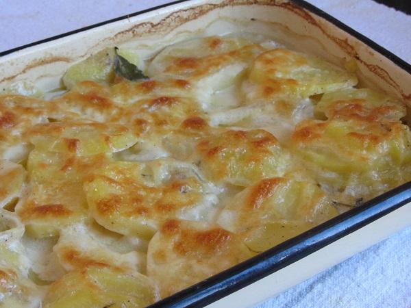 печени картофи дофиноа