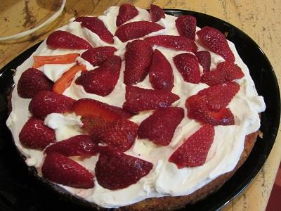 торта Виктория с ягоди