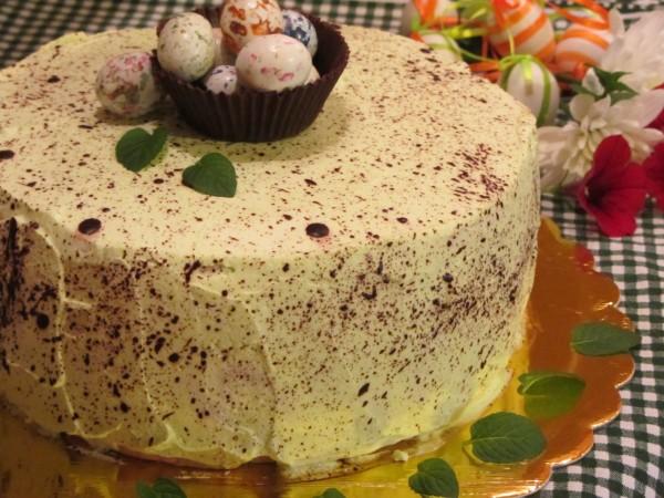 торта пъдпъдъче яйце за Великден рецепта