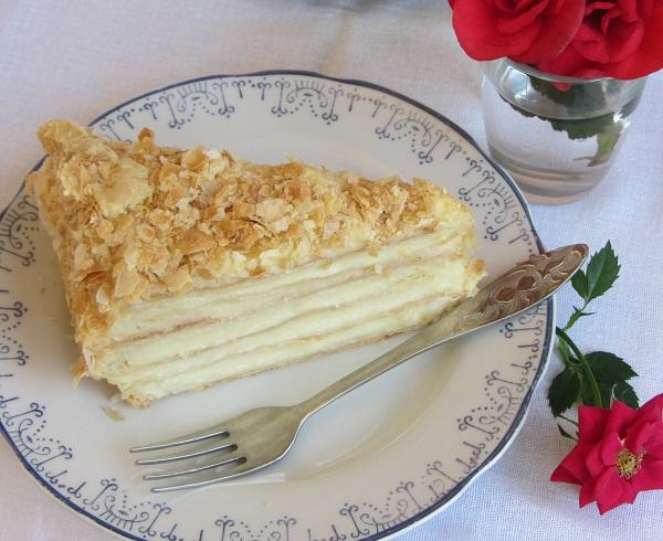 лека торта Наполеон рецепта