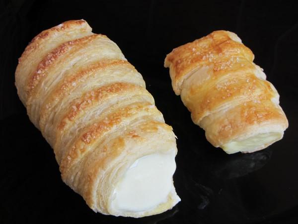 коминчета с бутер тесто и крем