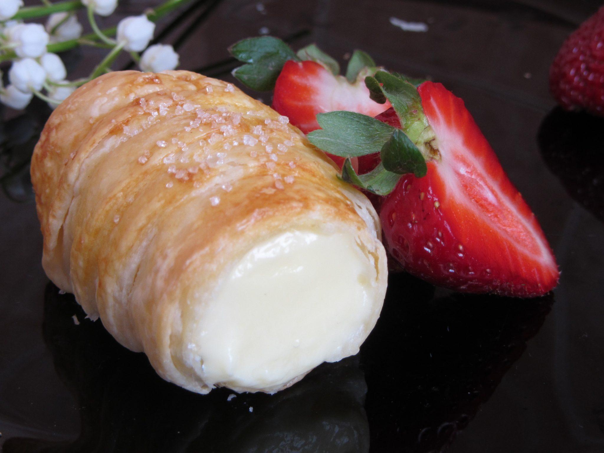 сладки от бутер тесто с крем коминчета