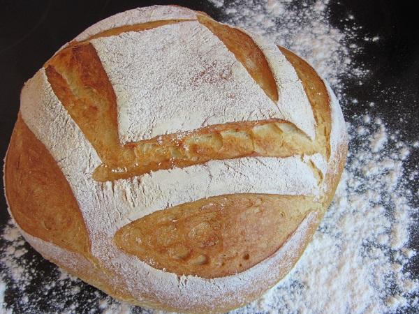 рецепта за домашен селски хляб