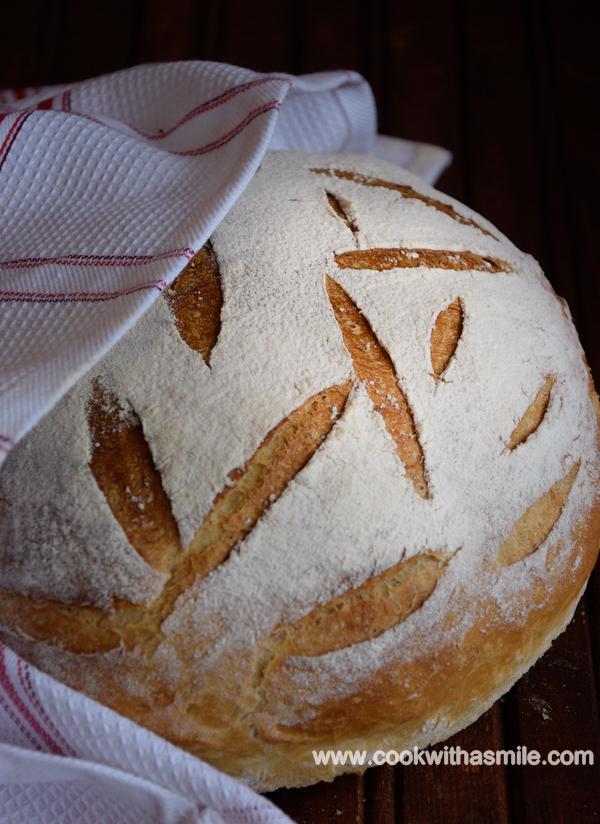 селски-хляб-рецепта
