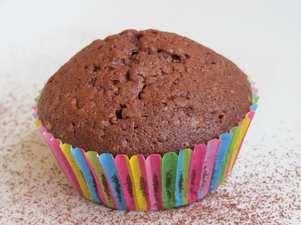 какаово кексче шоколадови мъфини