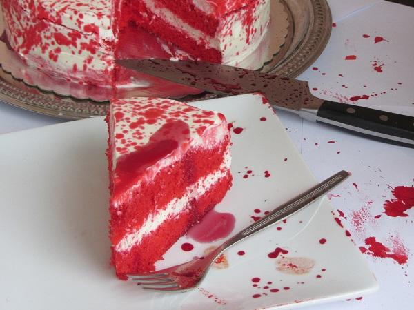 идеи-за-Хелоуин-кървава-торта