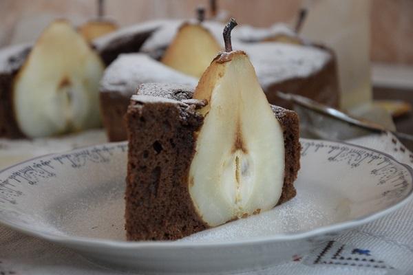 рецепта-шоколадов-кекс-с-круши