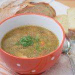 супа от манатарки с бекон