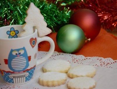 идеи за коледни маслени бисквити