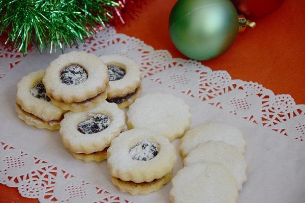 аржентински маслени бисквити коледни сладки