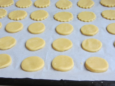 рецепта за маслени бисквити Алфахорес