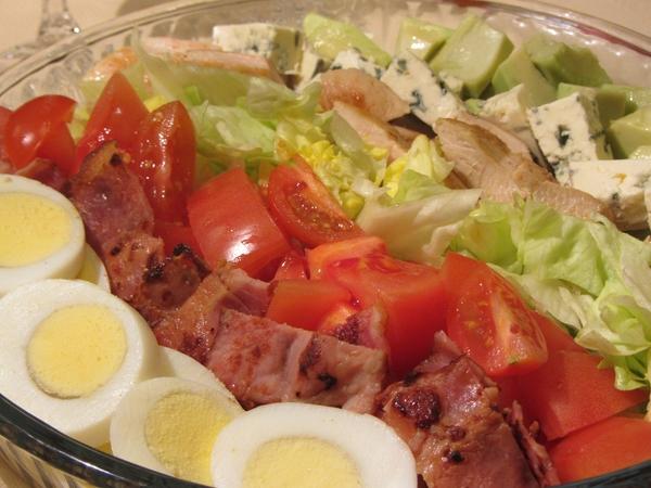 салата-Коб-рецепта