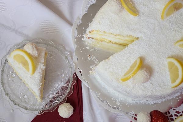 торта-с-кокос-и-лимон