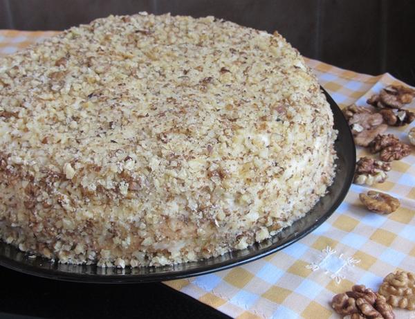 орехова торта рецепта