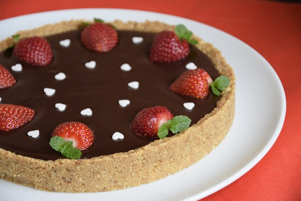шоколадов-тарт-без-печене