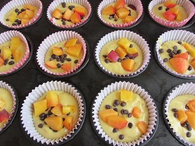 мъфини с-парченца-плодове