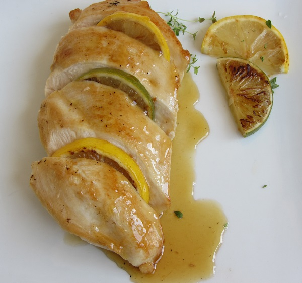 пилешко-филе-с-мед-и-лимон