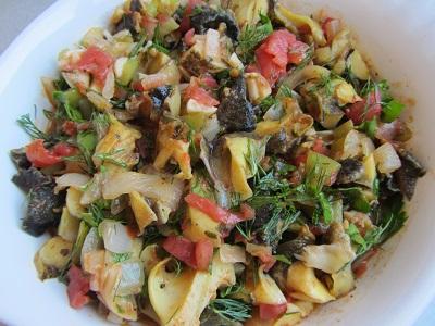 рапани-със-зеленчуци-на-фурна