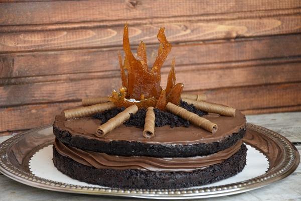 шоколадова торта Дивергенти