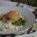 Пиле с ориз на фурна - стъпка по стъпка