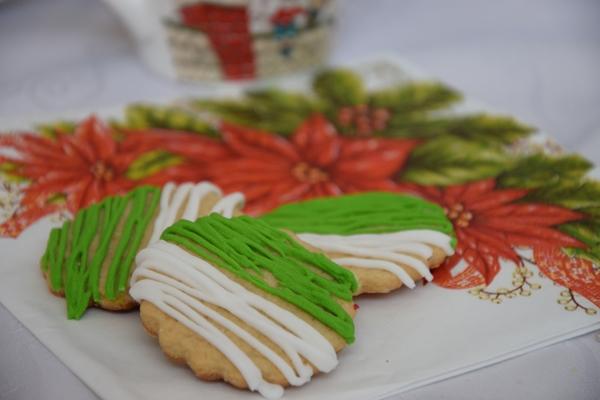 Коледни меденки лесна украса