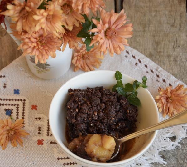 шоколадов-крамбъл-рецепта