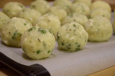 картофени кюфтета бърза рецепта