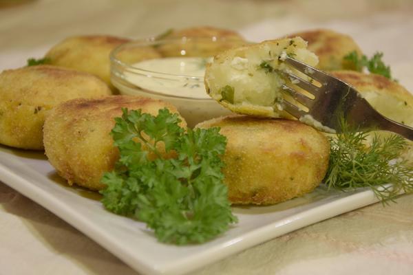 рецепта картофени кюфтета стъпка по стъпка