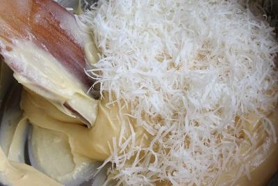 парено тесто за солени еклери