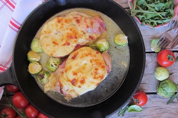 рецепта пилешко филе с ананас