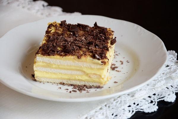 лесна бисквитена торта